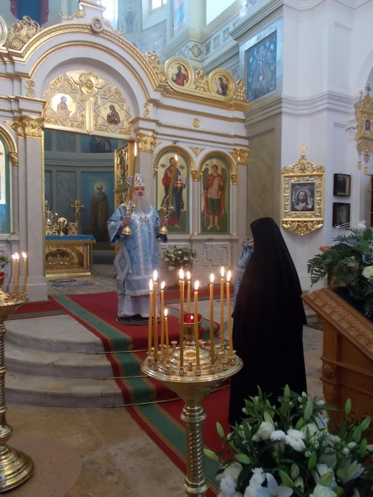 8 сентября богослужение во Владимирском соборе